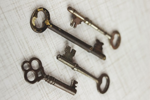 klíčky od nemovitostí