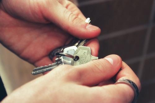 klíčky od domu